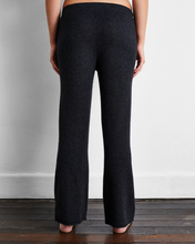 Load image into Gallery viewer, 100% Cashmere Pants in Charcoal