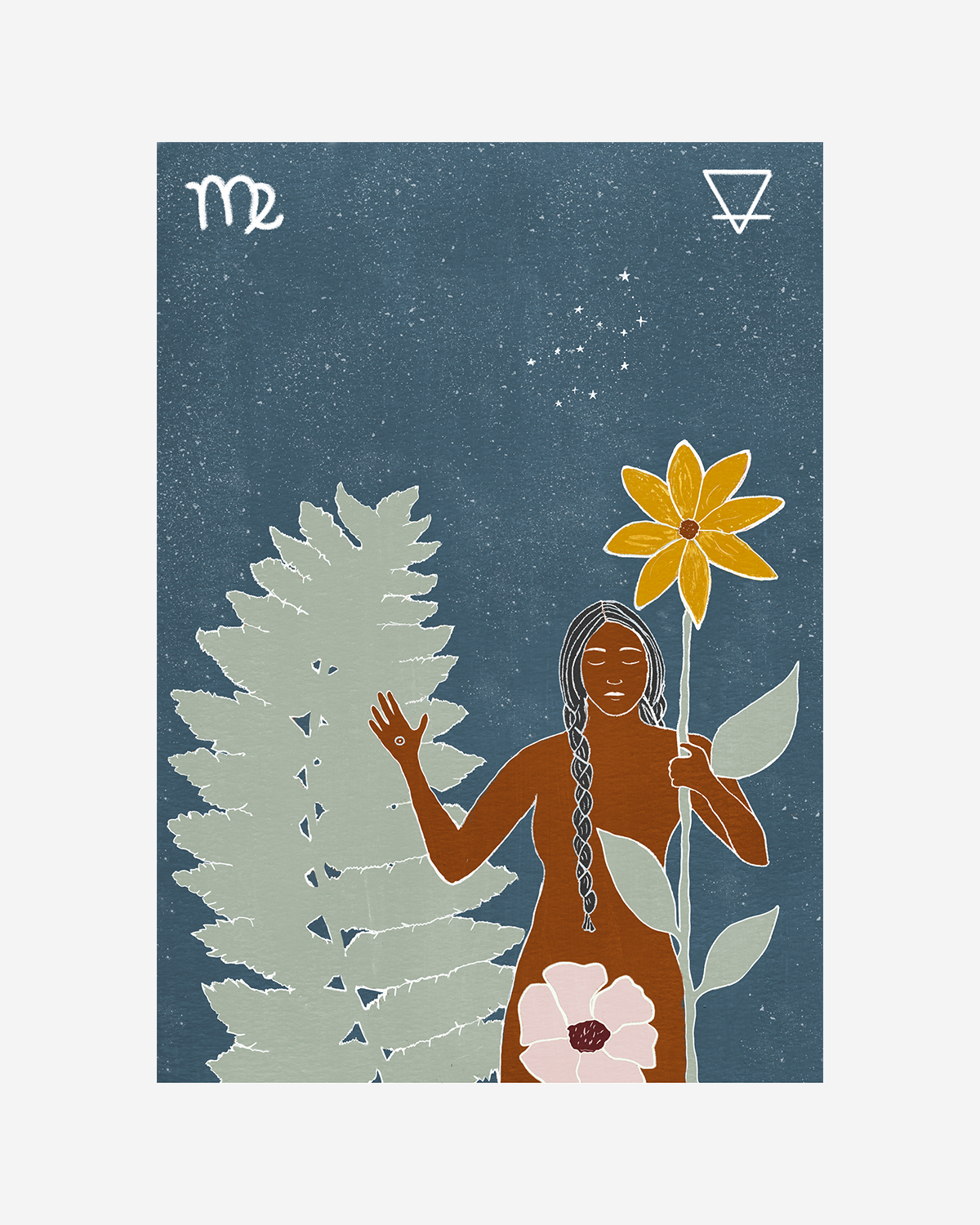 Seeds of Spells x Sisters Village 'Virgo' Print