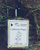 California Poppy Petal Glycerite