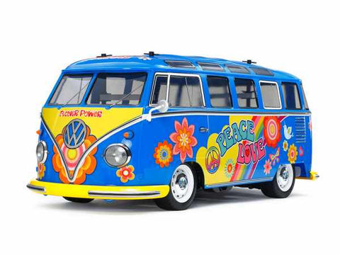 Tamiya VW Type 2 (T1) Pre-Pained Flower Power M-05 47453