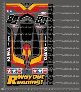 1/10TH TAM 58079 - EGRESS DECALS
