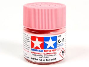 Tamiya X-17 Pink Mini Acrylic Paint - 10ml 81517