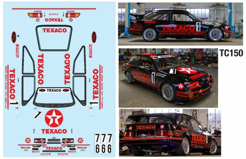 RS500 TEXACO  190mm x 257mm
