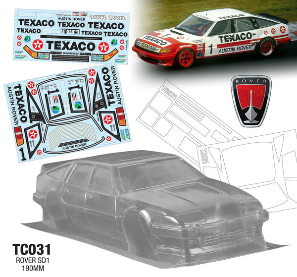 Rover SD1 190mm x 257mm With Decals