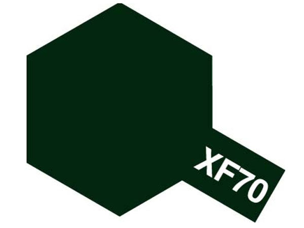 Tamiya XF-70 Dark Green 2 Mini Acrylic Paint - 10ml 81770