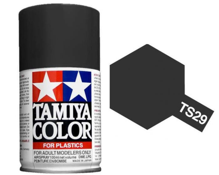 Tamiya 100ml TS-29 Semi Gloss Black # 85029