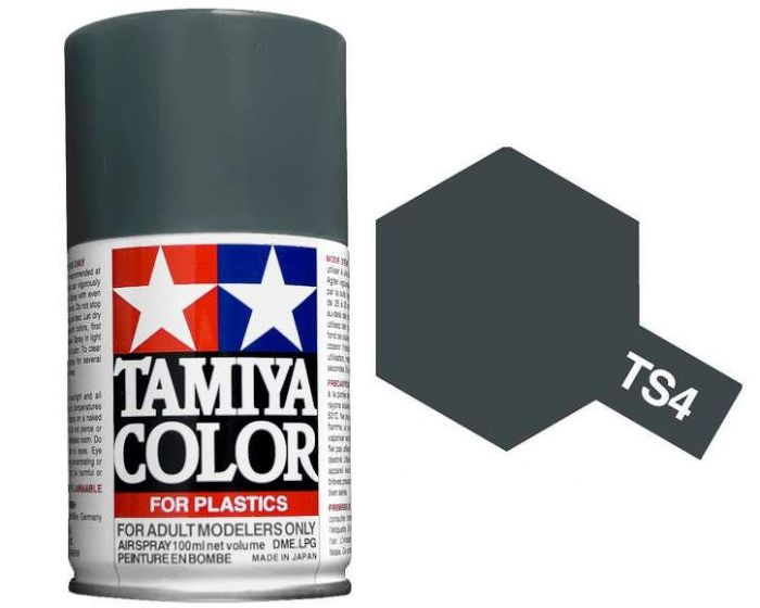 Tamiya 100ml TS-4 German Grey # 85004