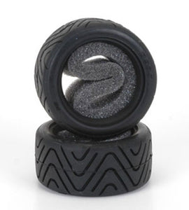 Shimizu Racing Treaded Tyres (pr) for Tamiya Mini - Hard PS-SM-F