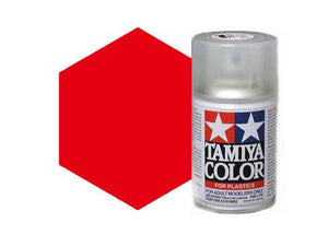 Tamiya 100ml TS-86 Brilliant Red Acrylic Spray # 85086