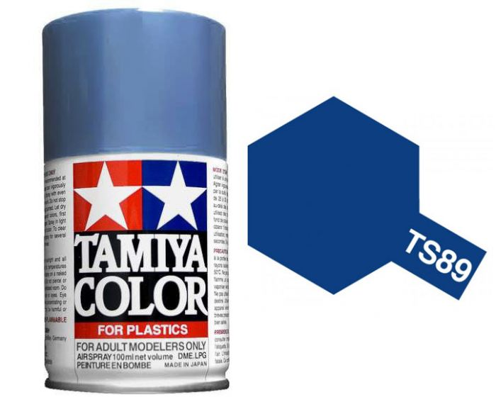 Tamiya 100ml TS-89 Pearl Blue # 85089