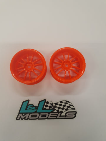 26mm 6mm offset 12 spoke thins (4pcs) - L&L models