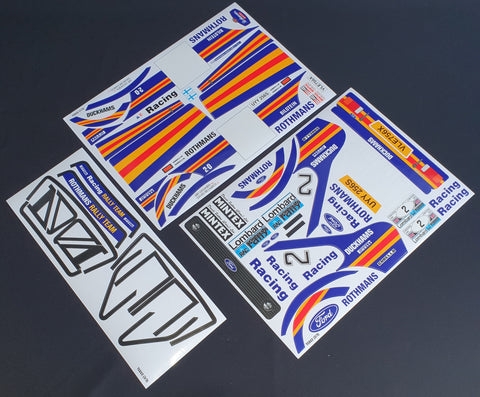Rothmans Mk2 decal set - L&L models