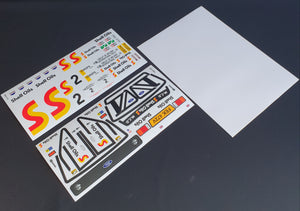 Ari Vatanen Mk2 decal set - L&L models