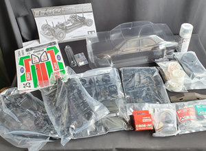 Mk1 Escort TT02 Tamiya chassis kit (castrol decal option)