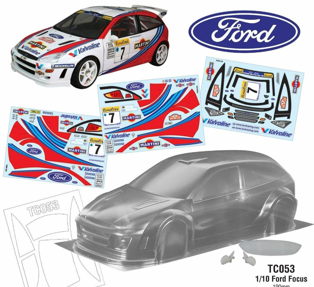 Ford Focus WRC Tamiya #50922 Replica