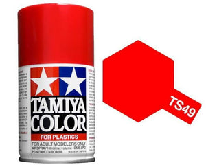Tamiya 100ml TS-49 Bright Red # 85049