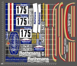 1/10TH PORSCHE - ROTHMANS