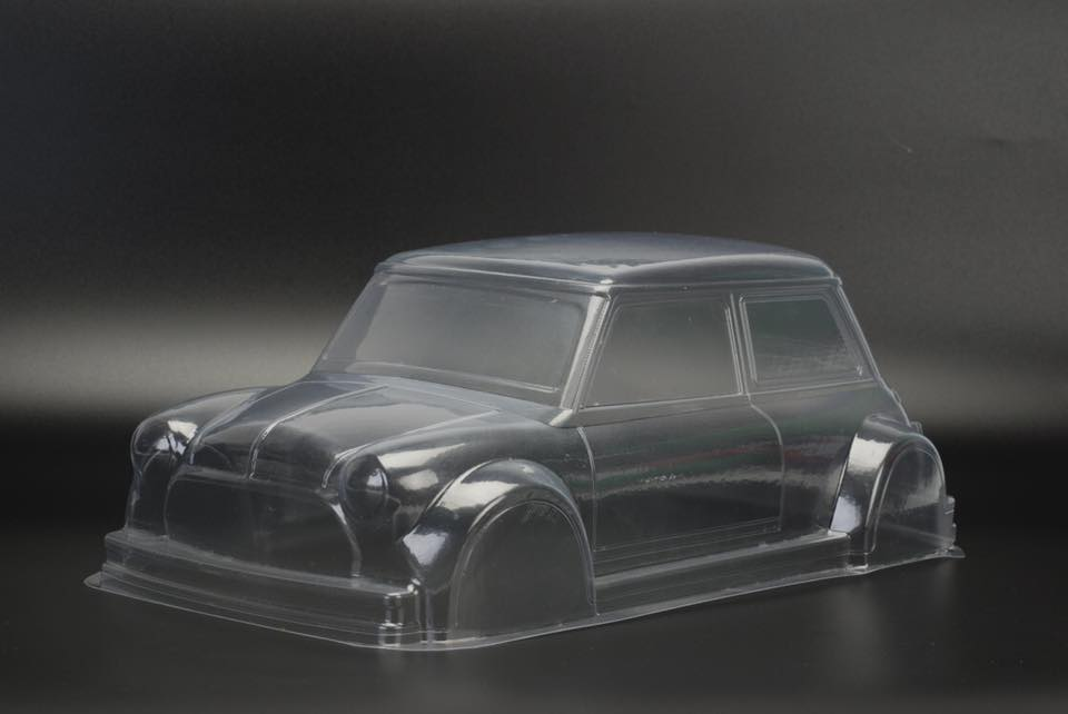 TM205 Mini 225mm M-chassis Body Shell - L&L models