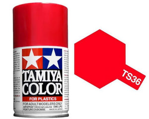 Tamiya 100ml TS-36 Fluorescent Red # 85036