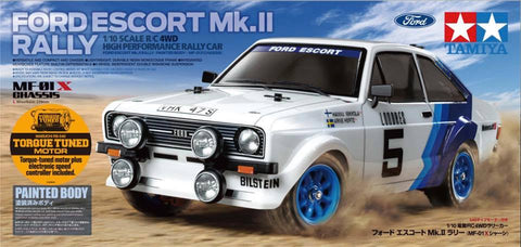 #58687 Escort mk.II Rally with a pre-painted body