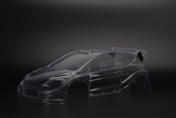 TM218 Ford Fiesta Rockstar 210mm M-chassis body shell - L&L models