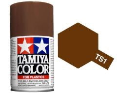 Tamiya 100ml TS-1 Red Brown # 85001