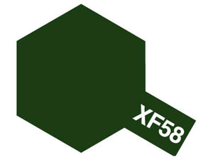 Tamiya XF-58 Olive Green Mini Acrylic Paint - 10ml 81758
