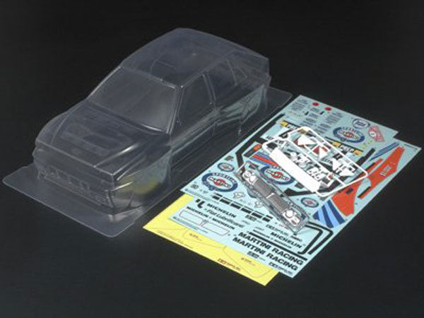 Tamiya RC Clear Body Set - Lancia Delta - L&L models