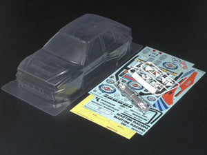 Tamiya RC Clear Body Set - Lancia Delta