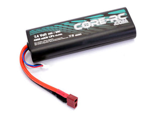 Core RC 4000mAHr 7.4v 30/60C 2s LiPo CR293