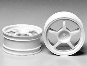 Tamiya 53232 One-Piece Racing Spoke Wheel (2) - L&L models