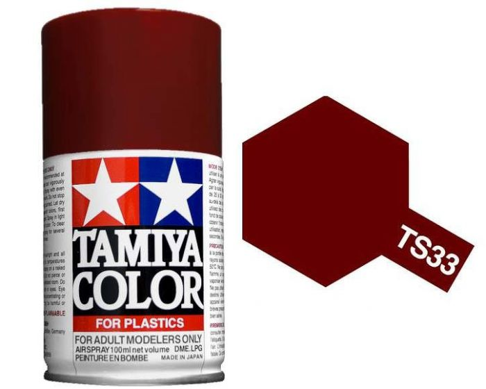 Tamiya 100ml TS-33 Dull Red # 85033