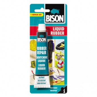 Bison Liquid Rubber 50 ML Tube Flexible, Strong Repair Paste