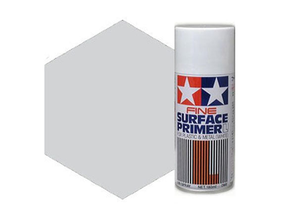 Tamiya Fine Surface Primer - Light Grey 87064