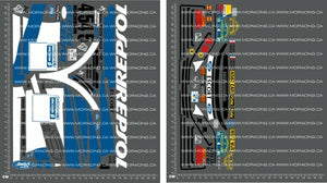 1/10TH TAM 58176 - FORD ESCORT COSWORTH RS - REPSOL DECALS - L&L models