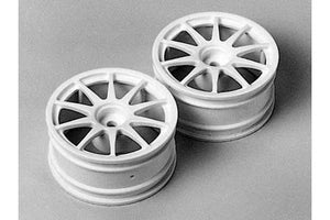Tamiya 10-Spoke One-Piece Wheels 2  (50732) - L&L models