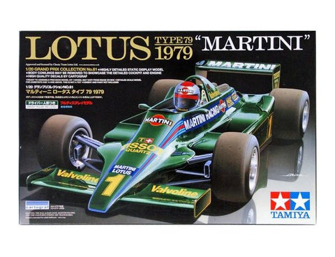 TAMIYA 1/20 LOTUS TYPE 79 1979 MARTINI MODEL KIT