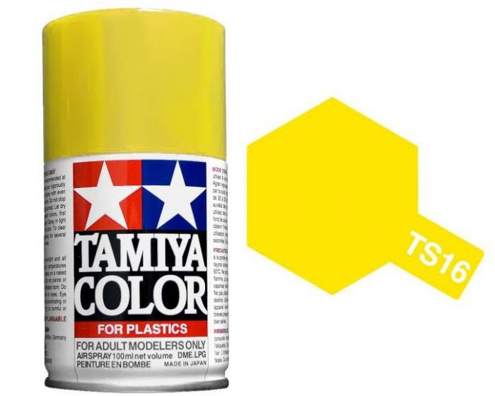 Tamiya 100ml TS-16 Yellow # 85016