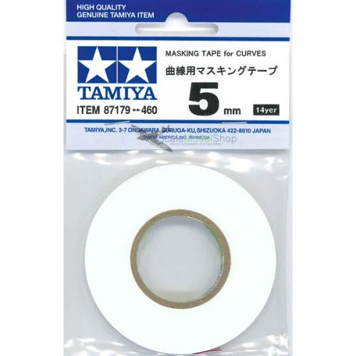 Tamiya Masking Tape For Curves 5mm 87179 - L&L models