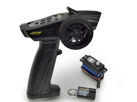 Carson Reflex Wheel Start 2.4g Radio with Servo C500102