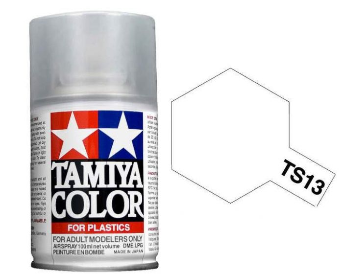 Tamiya 100ml TS-13 Clear # 85013
