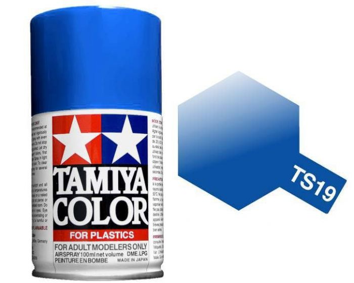 Tamiya 100ml TS-19 Metallic Blue # 85019