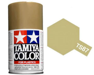 Tamiya 100ml TS-87 Titanium Gold # 85087