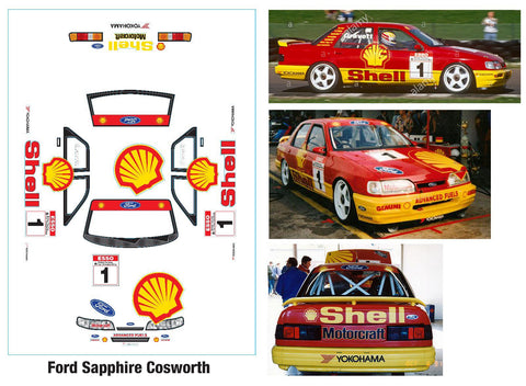 Ford Sapphire Cosworth shell 190mm