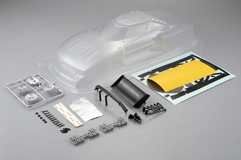 KILLERBODY LANCIA STRATOS (1977 GIRO) 190MM CLEAR BODY KB48307