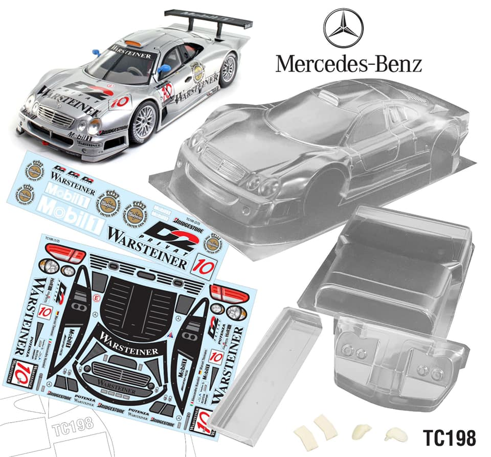 Mercedes Benz CLK GTR 190mm Body #11