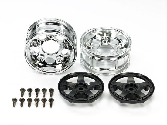 Tamiya 54854 RC Spare Parts 5-spoke 2pcs Wheels - L&L models