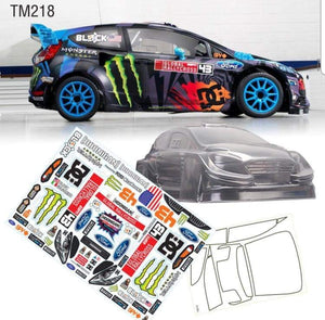 TM218 Ford Fiesta Monster Energy 210mm M-chassis Body - L&L models