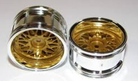 Tamiya (#50548) 2-Piece Mesh Wheels 4WD/FWD Touring & Rally Car (26mm) - L&L models