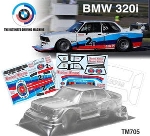 TM705 210mm BMW 320I m chassis - L&L models